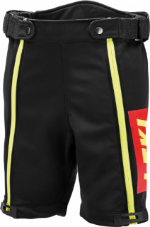 LEKI RACING SHORT THERMO SOFTSHELL BLKREDNEON