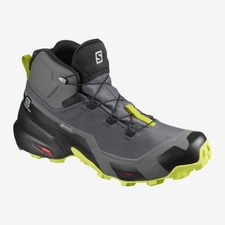 SALOMON CROSS HIKE MID GTX MAGNET/BLK