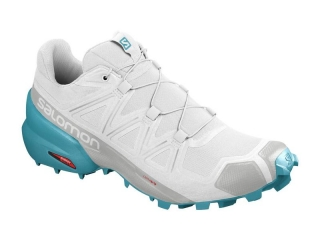 SALOMON SPEEDROSS 5 W WHITE/WHITE/BLUE BIRD