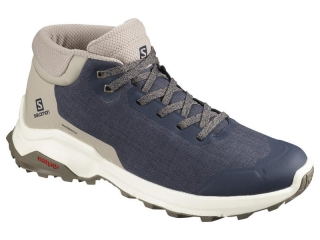 SALOMON X REVEAL CHUKKA CLIMASALOMON™ WATERPROOF NAVY/BLAZER