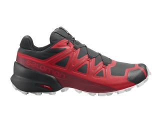SALOMON OBUV SPEEDCROSS 5 GOJI BERRY/WHITE/BLACK