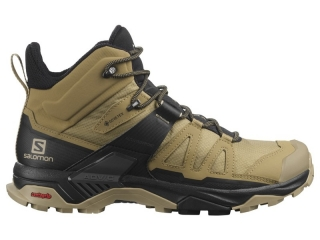 SALOMON OBUV X ULTRA 4 MID GTX KELP/BLACK/SAFARI
