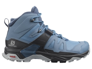 SALOMON OBUV X ULTRA 4 MID GTX W COPEN BLUE/BLACK