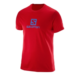 SALOMON SHIRT LOGO SS RED