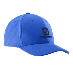 SALOMON LOGO CAP BLUE