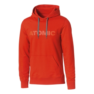 ATOMIC ALPS HOODIE DARK RED