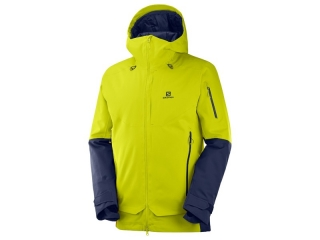 SALOMON QST GUARD JKT M CITRONELLE NIGHT SKY