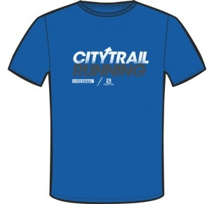 SALOMON CITYTRAIL TEE BLUE