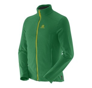 SALOMON CONTOUR FZ MIDLAYER M GREEN
