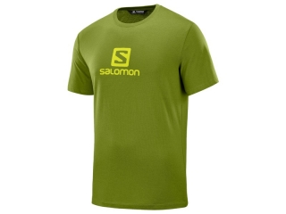 SALOMON TEE COTTON GREEN