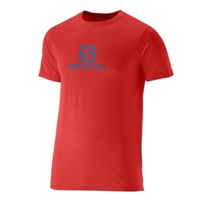 SALOMON COTTON TEE MATADOR-X
