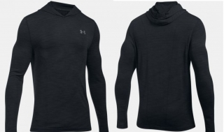 UNDER ARMOUR HOODY GREY