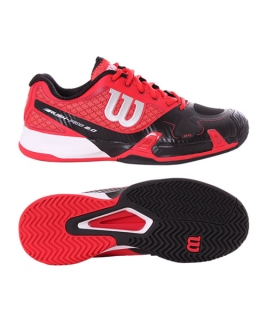 WILSON RUSH PRO 2,0 CLAY COURT WILSON RED