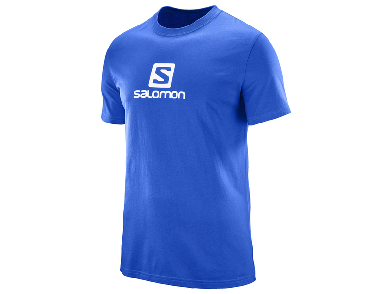SALOMON TRIČKO COTON LOGO SS TEE M SURF THE WEB
