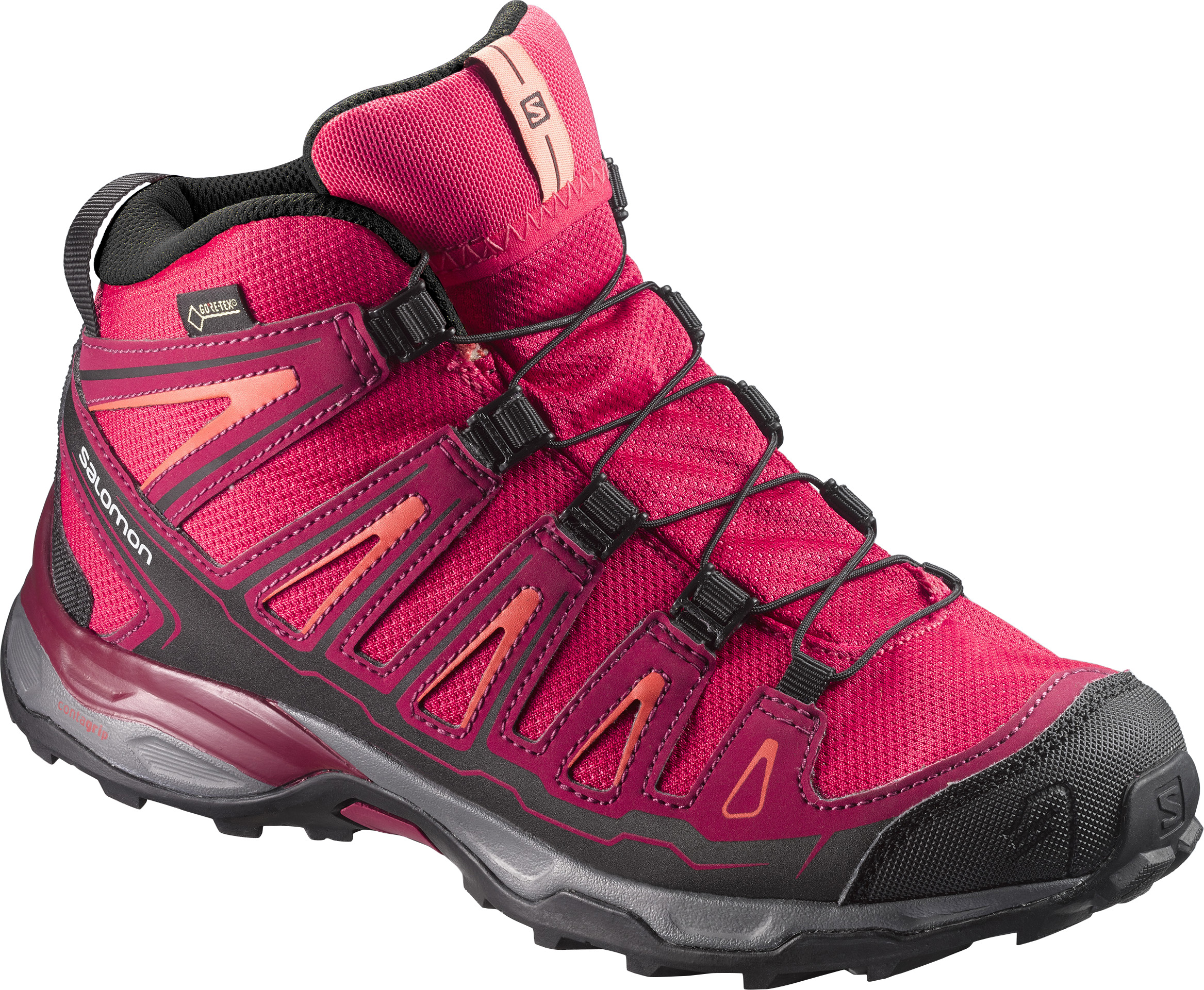 SALOMON X ULTRA MID GTX J VIRTUAL PINK
