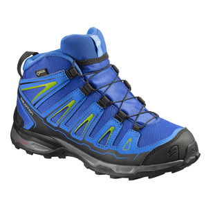 SALOMON X ULTRA MID GTX J BLUEBLK