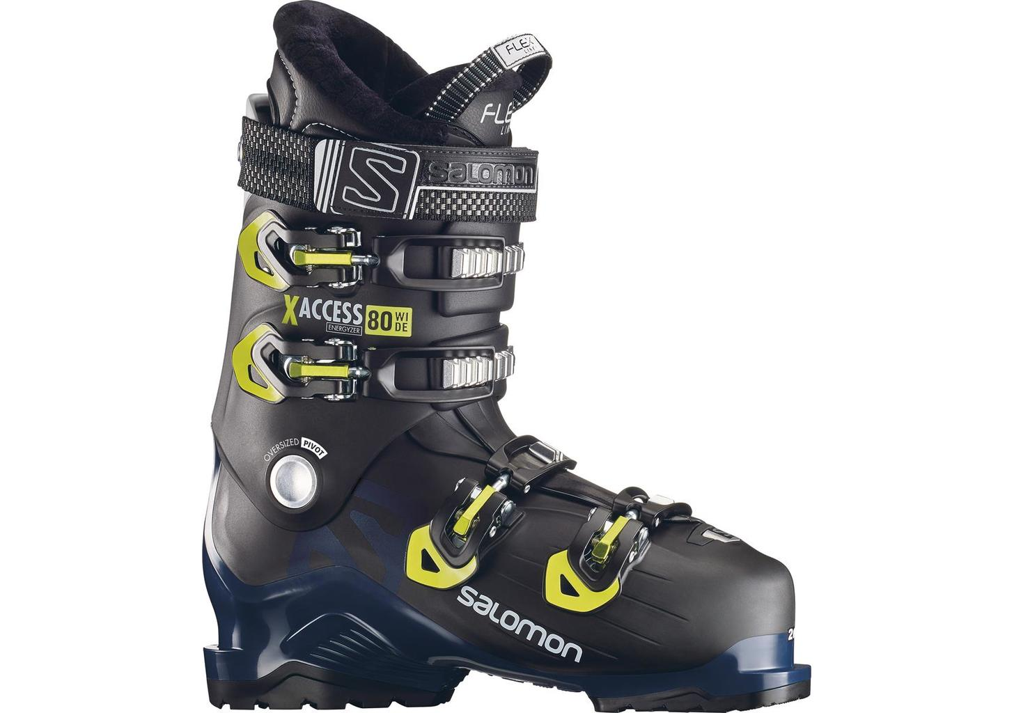 SALOMON X ACCESS 80 WIDE BLKPETROL