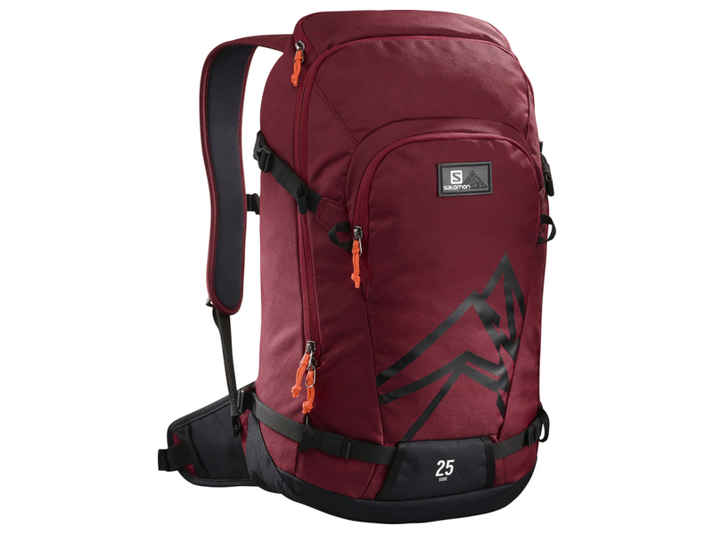 SALOMON BATOH SIDE 25 BIKING REDBLACK