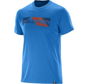 SALOMON CUTTER SS COTTON TEE BLU