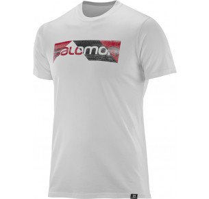 SALOMON CUTTER SS COTTON TEE WHI