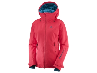SALOMON QST GUARD JKT W HIBISCUS
