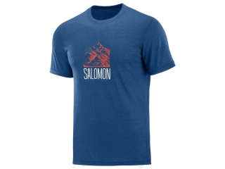 SALOMON EXPLORE GRAPHIC SS M POSEIDON