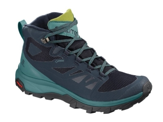 SALOMON OUTLINE MID GTX W NAVY BLAZE