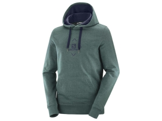 SALOMON MIKINA SHIFT HOODIE M GREEN GABLES /NIGHT SKY
