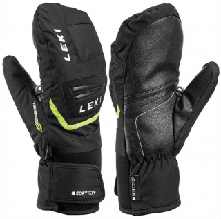 LEKI RUKAVICE GRIFFIN S JUNIOR MITT BLACK/YELLOW