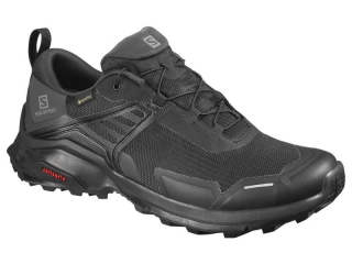 SALOMON OBUV X RAISE GTX BLACK/BLACK/PHANTOM