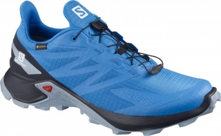 SALOMON SUPERCROSS BLAST GTX BLUE/GREY