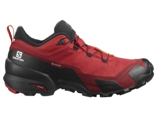 SALOMON OBUV CROSS HIKE GTX GOJI BERRY /BLACK/RED