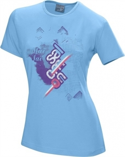 SALOMON TEE BLUE