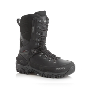 VIKING HUNTER HIGH GTX LEATHER BLK