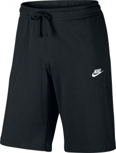 NIKE FIT SHORT JERSEY BLK