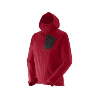 SALOMON RANGER SOFTSHELL JKT M RED