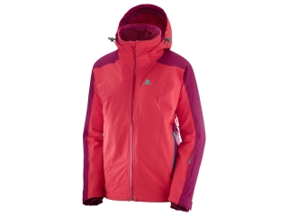 SALOMON BRILLIANT JKT W HIBISCUSCERISE