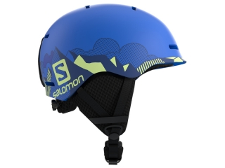 SALOMON PRILBA GROM POP BLUE MAT