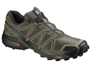 SALOMON SPEEDCROSS 4 WIDE GRAPE LEAF BURNT