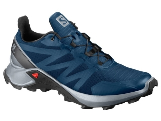 SALOMON SUPERCROSS POSEIDON PEARL BLUE  BK