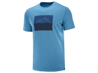 SALOMON AGILE GRAPHIC TEE MFJORD BLUEHE