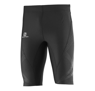 SALOMON INTENSITY SHORT TIGHT M BLK
