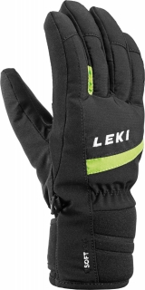 LEKI RUKAVICE MAX JUNIOR BLKLIME