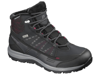 SALOMON OBUV KAINA CS WP 2 PHANTOMBKBEET RED