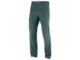 SALOMON WAYFARER STRAIGHT PANT M GREEN