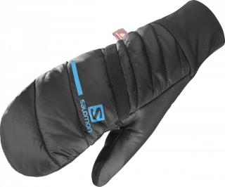 SALOMON RUKAVICE XA WARM OVERMITTEN U BLKBLUE