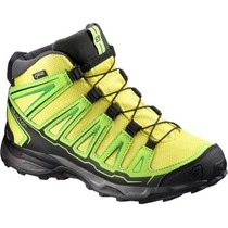 SALOMON X ULTRA MID GTX J YELLOWGREEN