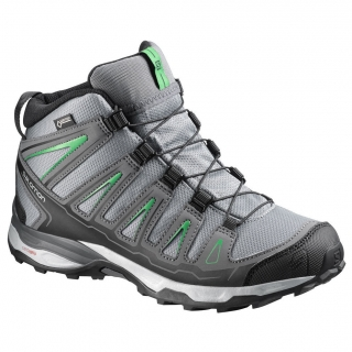 SALOMON X ULTRA MID GTX J GREYGREEN